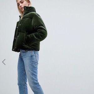 1162077958e ASOS Jackets & Coats | Vinyl Puffer Coat | Poshmark